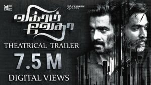 Vikram Vedha is a brilliant south indian movie dubbed in hindi