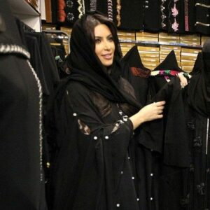 kim kardashian in style hijab