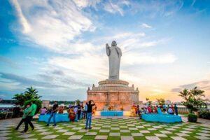 buddha statue historical monuments of india
