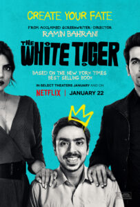 the white tiger netflix new release movies bollywood