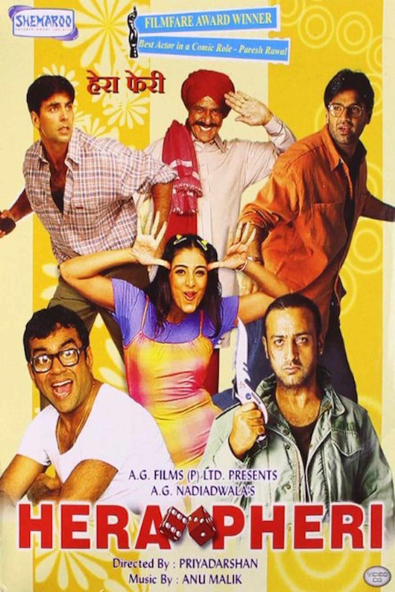 hera pheri one of the popular comedy movies