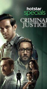 criminal justice desi web series