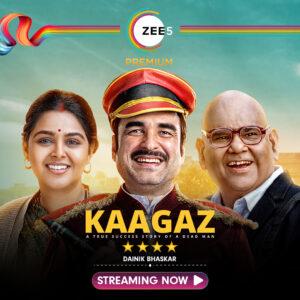 kagaaz in zee5 new bollywood movie