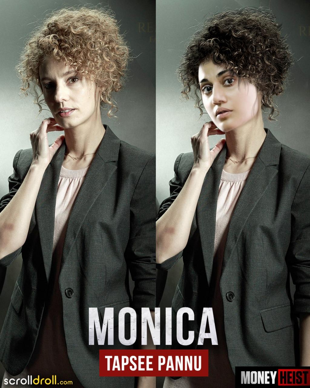 Money-Heist-With-A-Bollywood-Cast-Monica