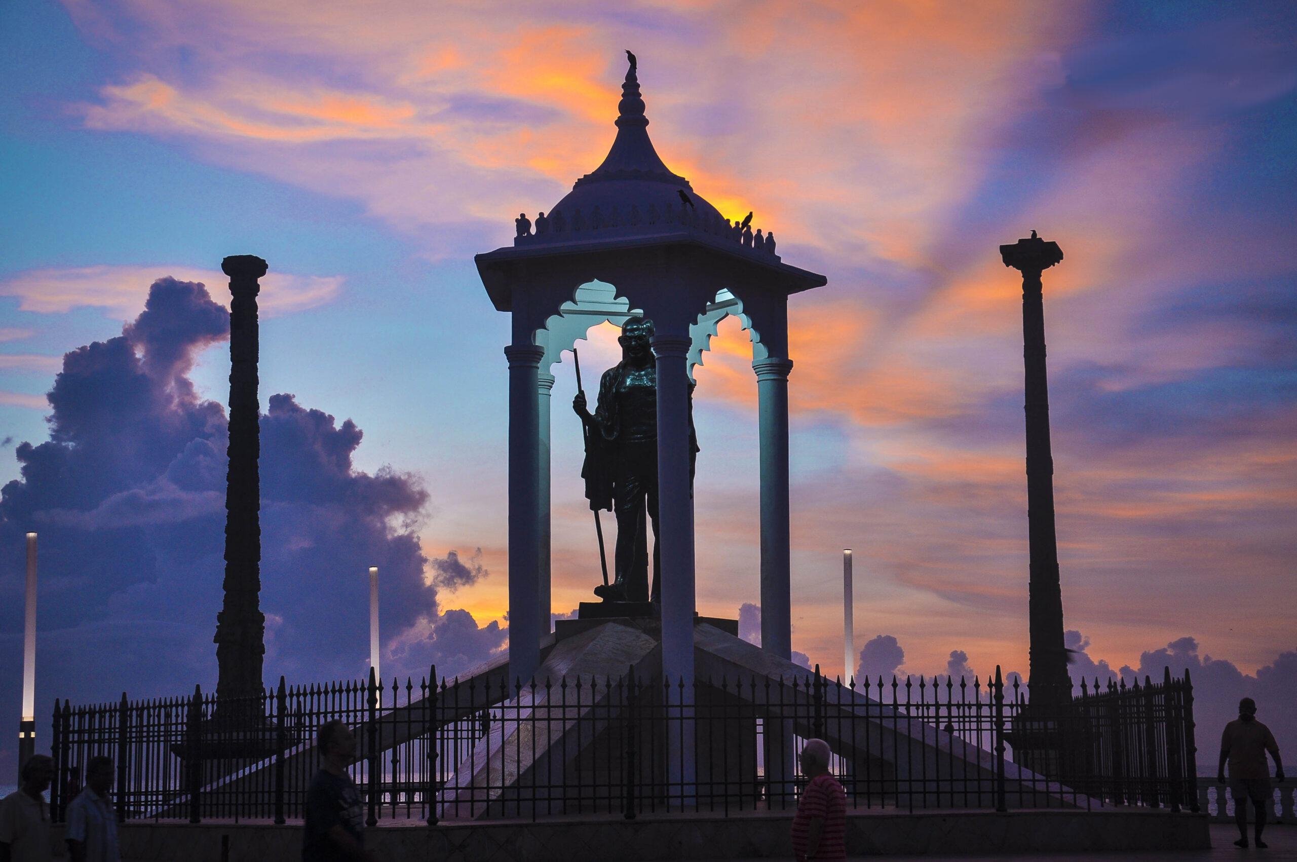 Statue Of Gandhi pondicherry