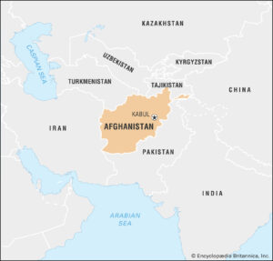 Afghaistan is one of neighboring countries of India