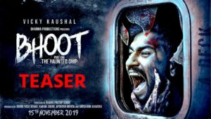 Bhoot 1 is the first part of a planned horror series in Bollywood