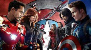 Civil War shows us a battle between the Avengers