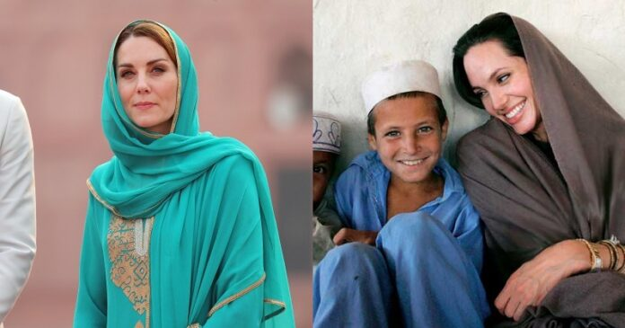 different hijab styles by celebrities