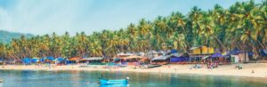 Goa is a paradise among the honeymoon destinations in India