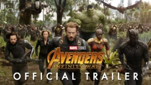 infinity war marks the biginning of the Avengers' war against Thanos