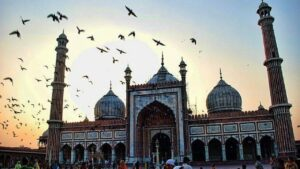 jama masjid one of the famous monuments of India