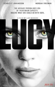Lucy is a action packed thriller movie on Netflix