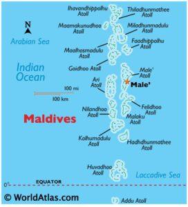 Maldives is a maritime neighbor of India