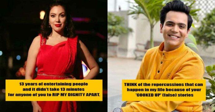 mun mun dutta and Raj Anadkat speak up against the memes on social media