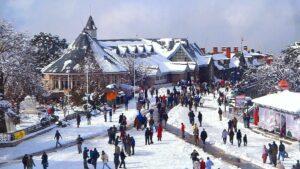 the ridge winter best time to visit shimla