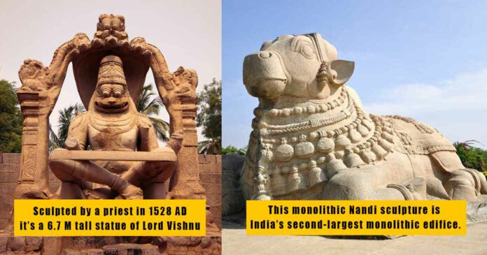 historical monuments from the southern region of india