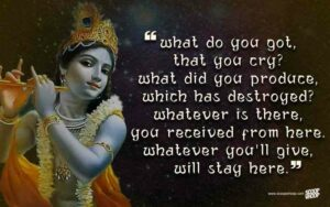 beautiful and heart touching lord krishna quotes