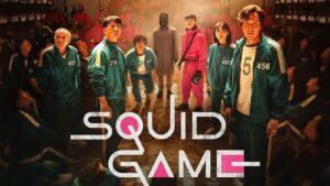 Squid games on netflix