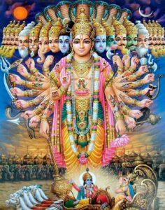 virat roop lord krishna