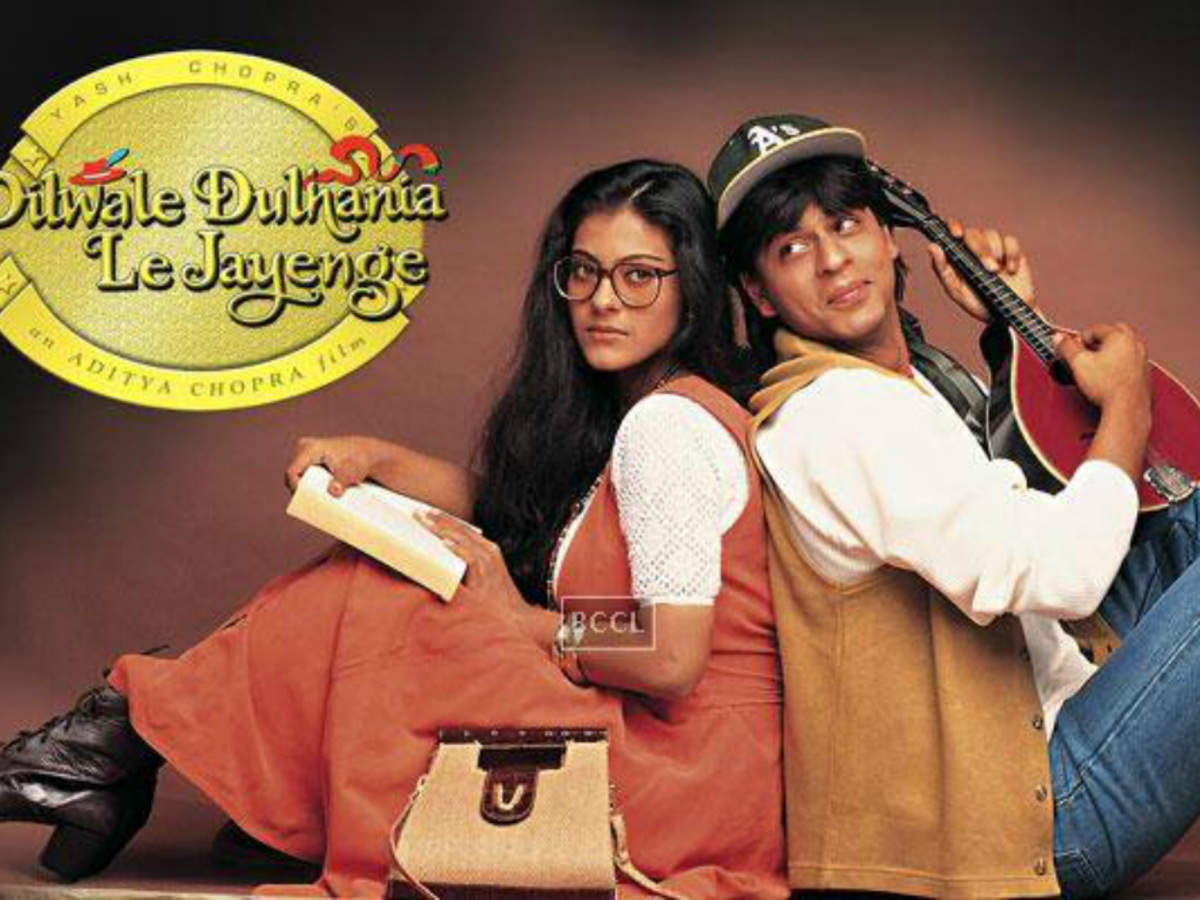 Dilwale Dulhania Le Jayenge is the superhit romantic Bollywood movie