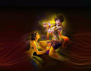 radha and lord krishna