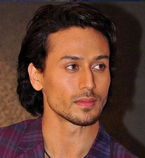 Tiger Shroff hairstyle for men Indian