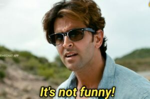 It's not funny is one of the meme templates Indian that went viral