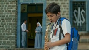 This hindi meme templates with kid playing trumpet went viral