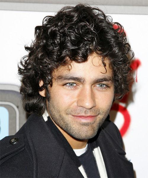 long curly hairstyles for men long hair