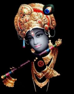 The divine lord krishna