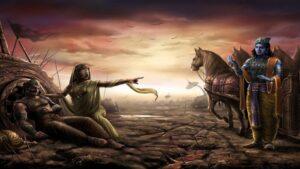 gandhari curse on lord krishna