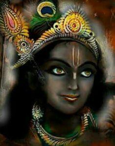 lord krishna original colour