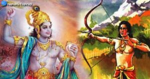 The Lord Krishna images with eklavya
