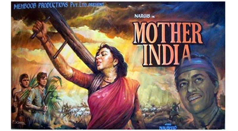mother India is the old Bollywood movie of Nargis and Sunil dutt