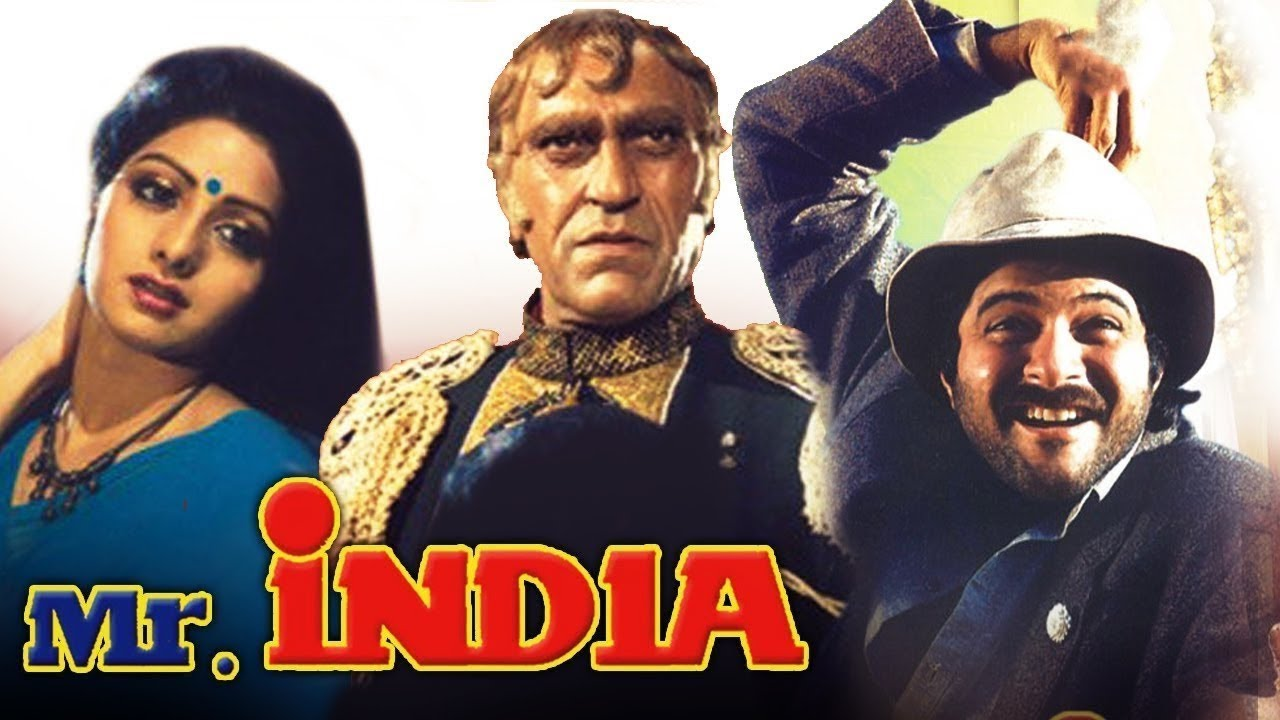 mr. india bollywood movie poster
