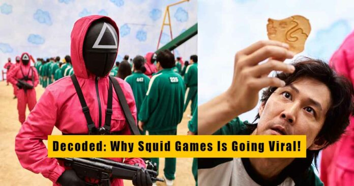 discussing reasons why squid games is going viral