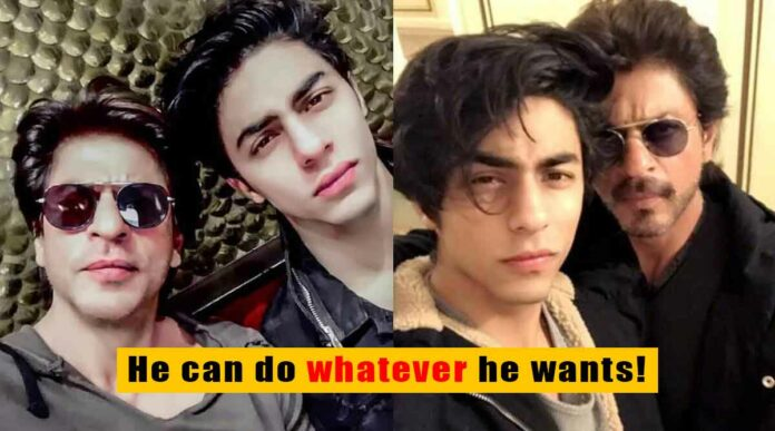 shah rukh khan's old interview talking about aryan khan surfaces online
